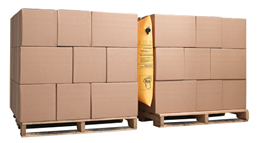 dunnage shipping airbags preventing damage to products on wood pallets