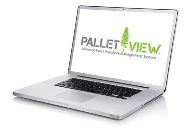 Millwood offers a convenient pallet service.