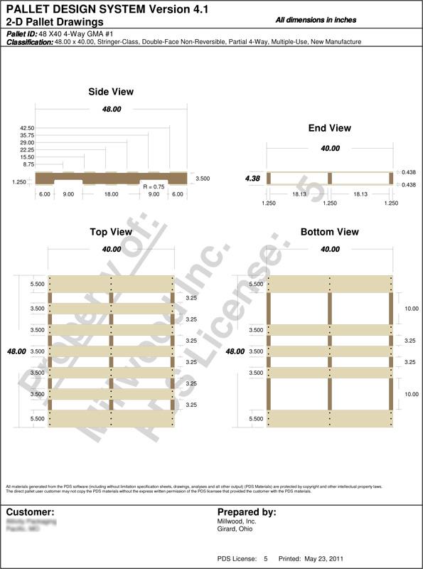 Wooden Pallet Dimensions Cfxq