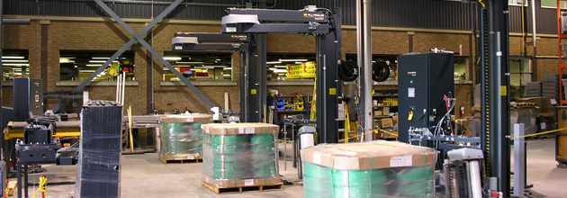 Material handling systems for increased productivity.